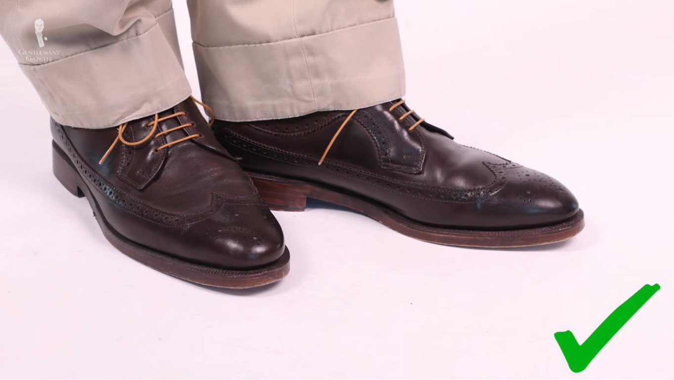 brown derbies with cognac yellow shoelaces by Fort Belvedere