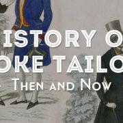 history of bespoke tailoring