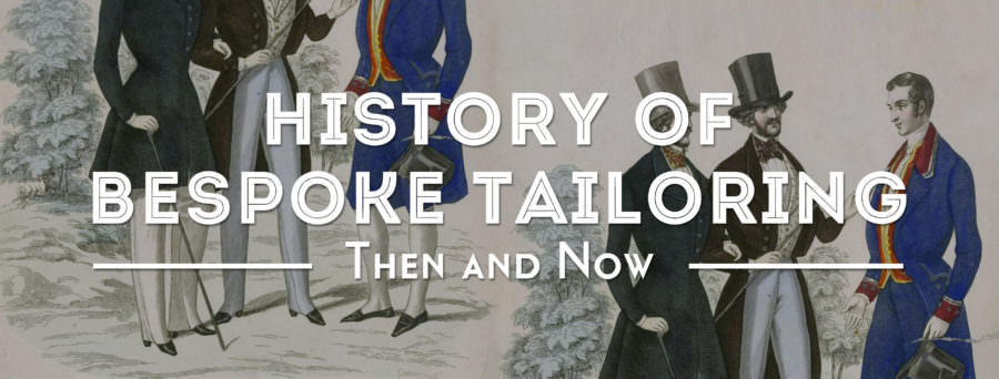 history of bespoke tailoring