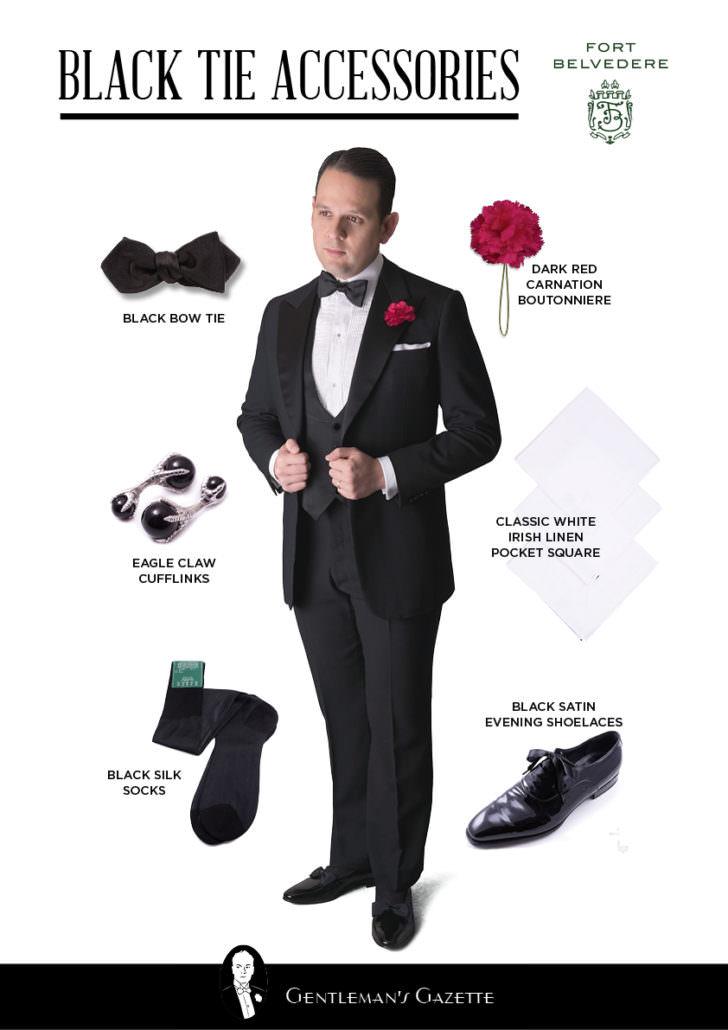 84027fdc0 Tuxedo Accessories Shopping Guide — Gentleman s Gazette