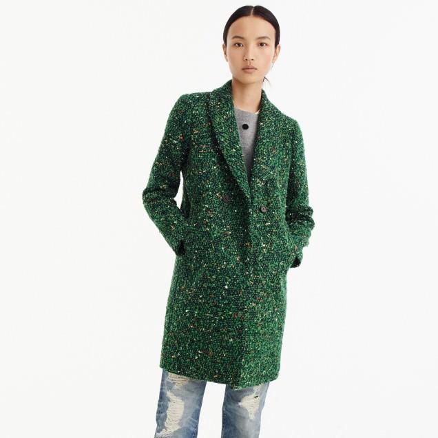 J Crew Tweed Coat for Women