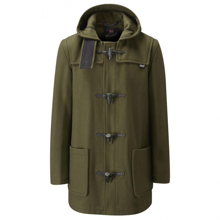 Loden Green Duffle Coat from Gloverall