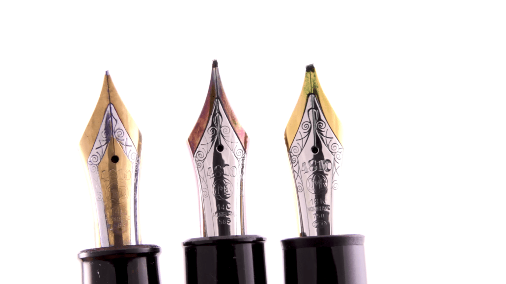 Mont Blanc Fountain Pen Nibs