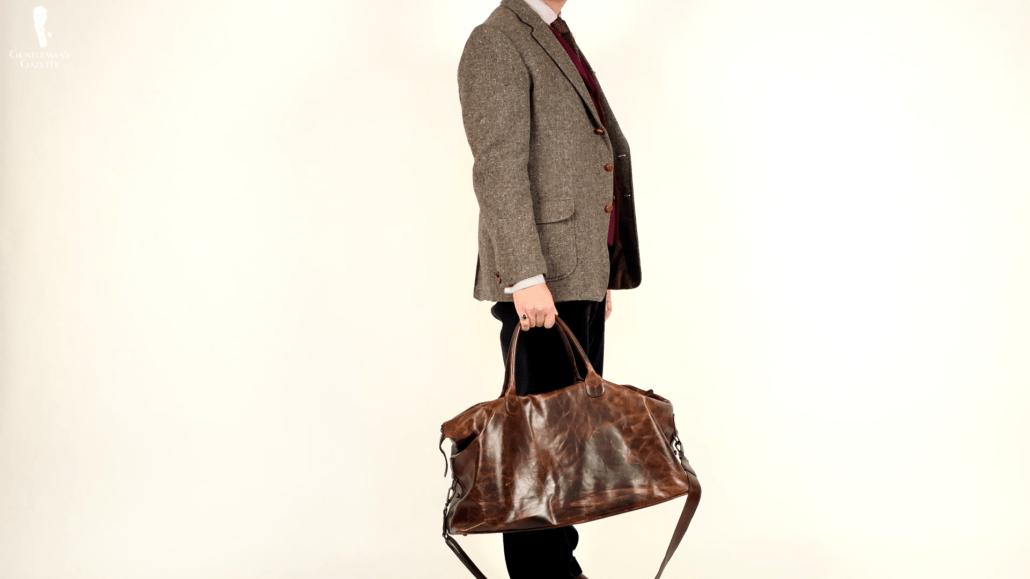 Sven Raphael's Leather Weekender
