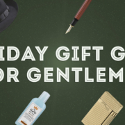 holiday gift guide for gentlemen 2018