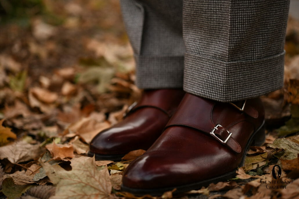 Monkstrap Brandy Antique