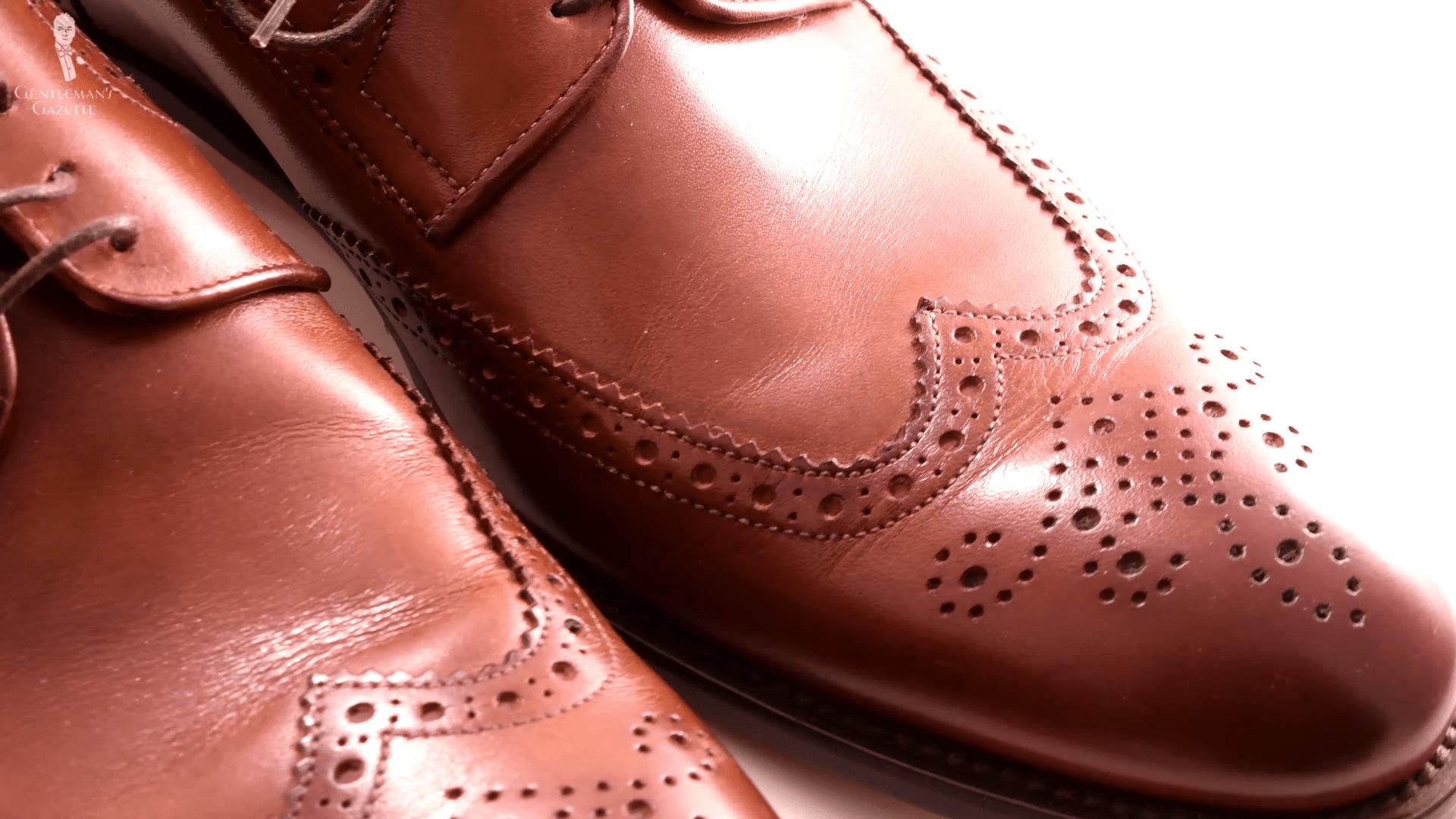 dress shoe size