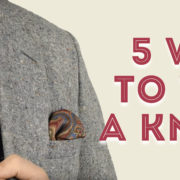5 Ways to Wear a Knit Tie