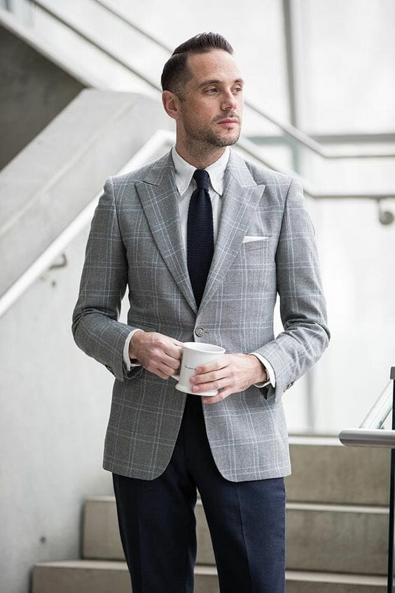 How to Wear Blue & Gray - Color Combinations for Blues ...