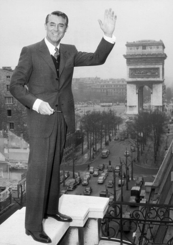 Cary Grant was a fan of pleats