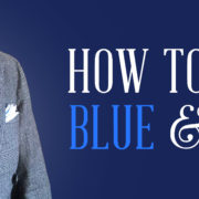 How to Wear Blue & Gray: A Classic Menswear Color Combination