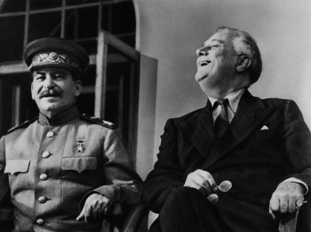 Stalin and Roosevelt