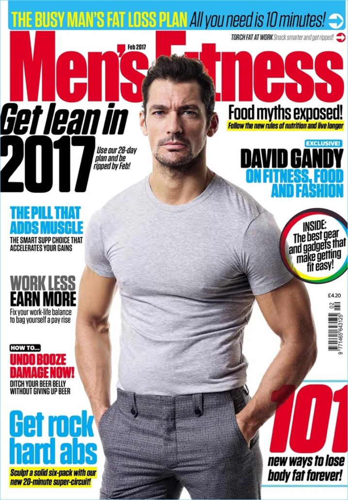 On the cover of Men's Fitness