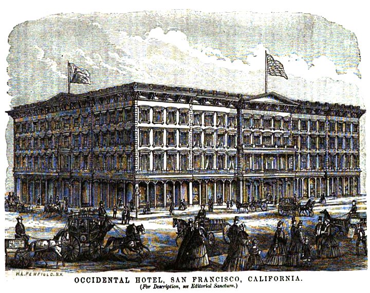 The Occidental Hotel, San Francisco
