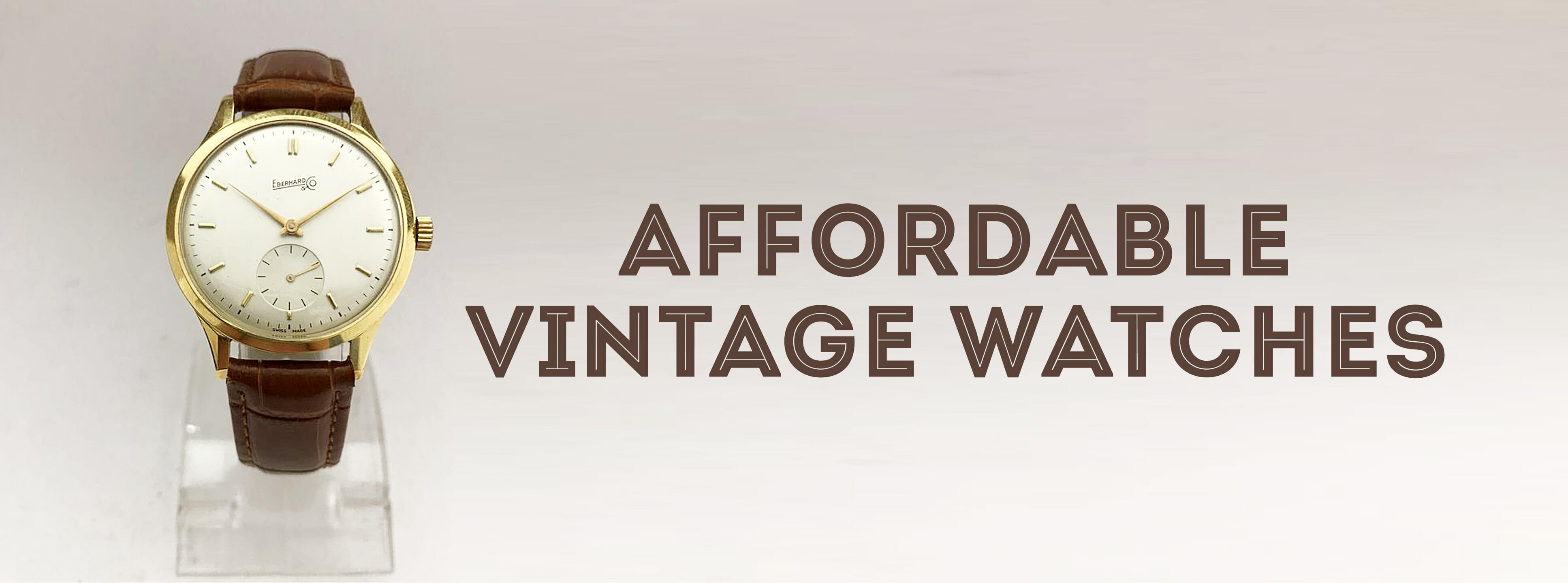 d0d30f7f3 Affordable Vintage Watches — Gentleman's Gazette