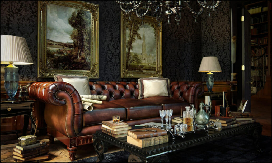 A London Gents' Club or your place?