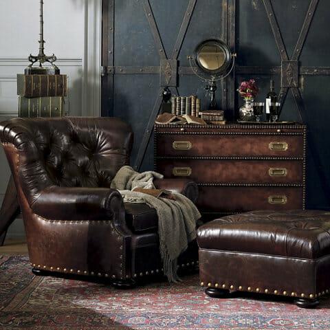 Ralph Lauren chesterfield set