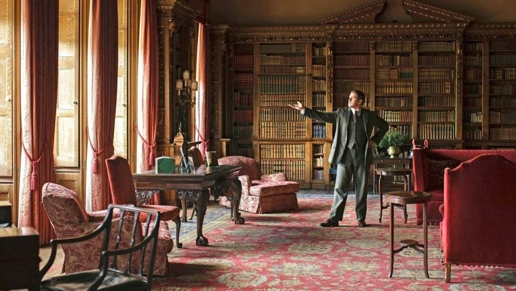 Downton Abbey library