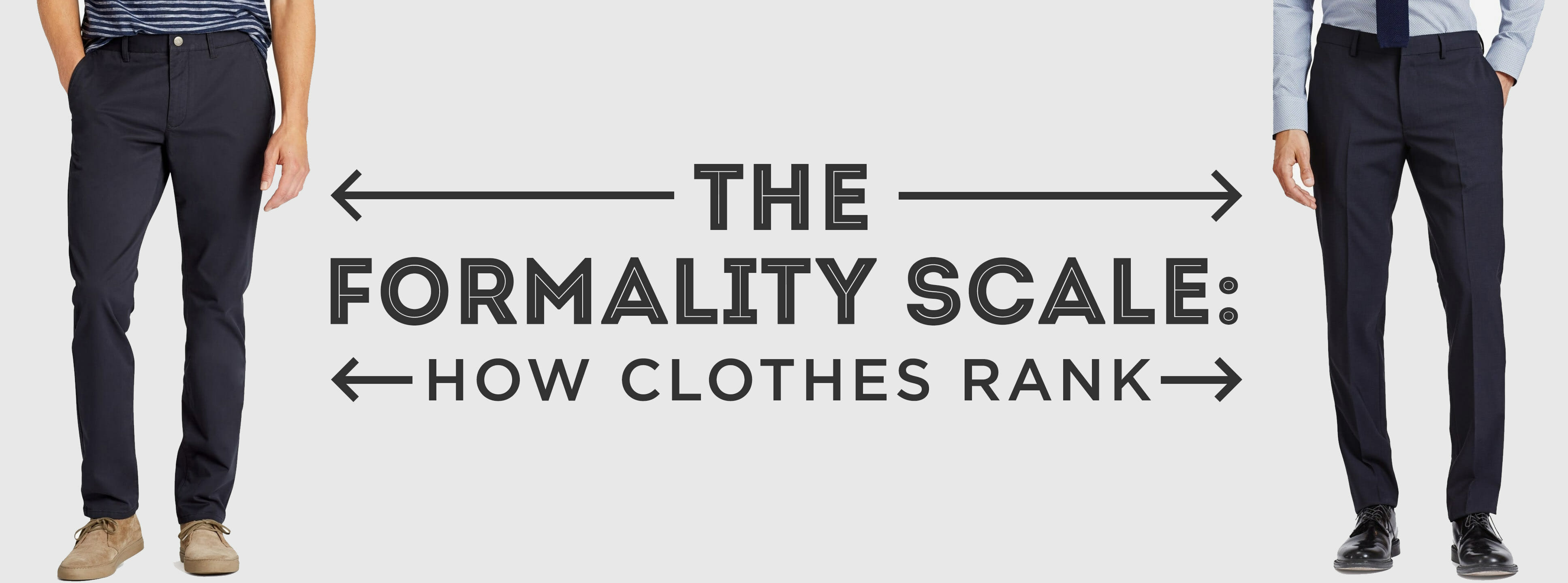 9517570b91dae The Formality Scale: How Clothes Rank From Formal To Informal ...
