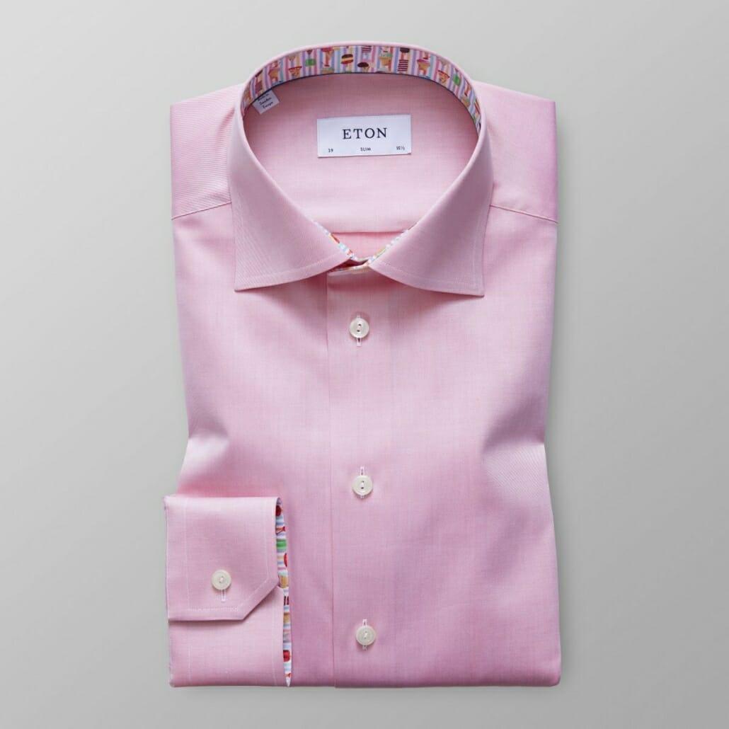 Eton dress shirt in pink