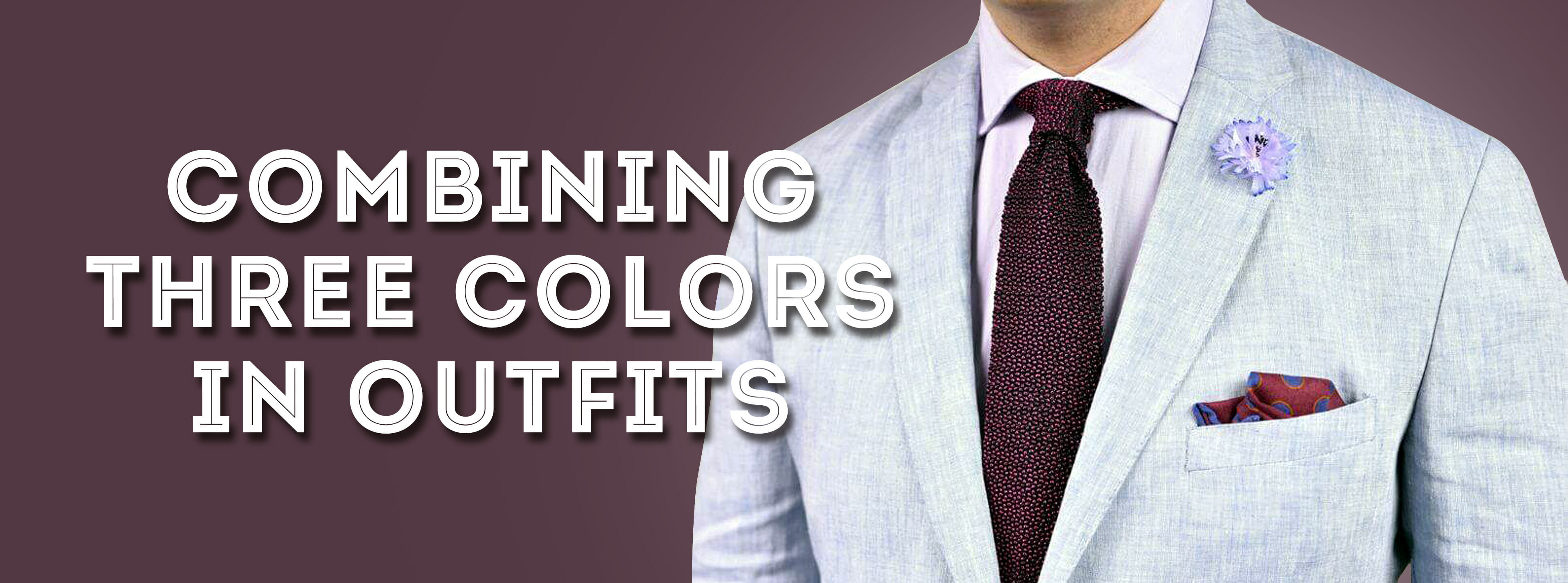 9f4af0129b68 Using Three or More Colors for Sophisticated Men's Style ...