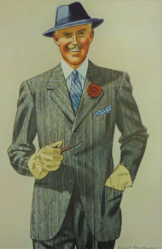 Esquire May 1938 - Multiple Paired Stripes