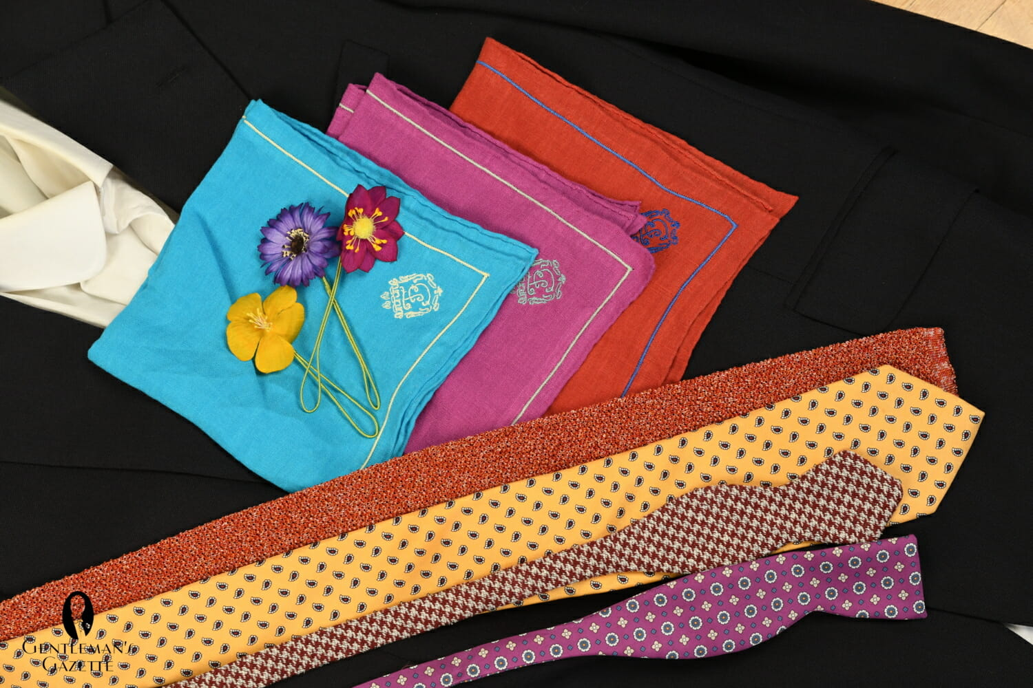 A colorful selection of Fort Belvedere accessories