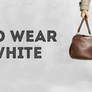 How to Wear Off-White: Ivory, Cream or Beige in Menswear
