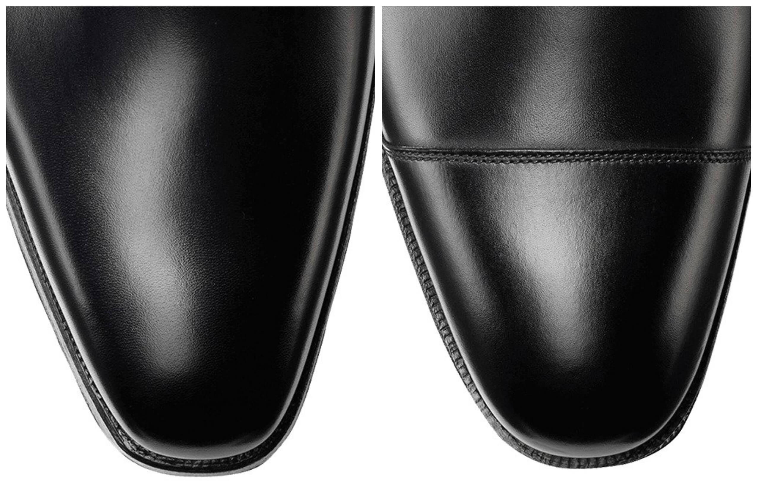 Shoe Toe Shapes and Detailing Explained