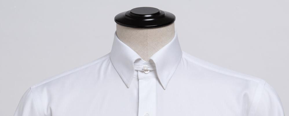 Tab-collar shirt