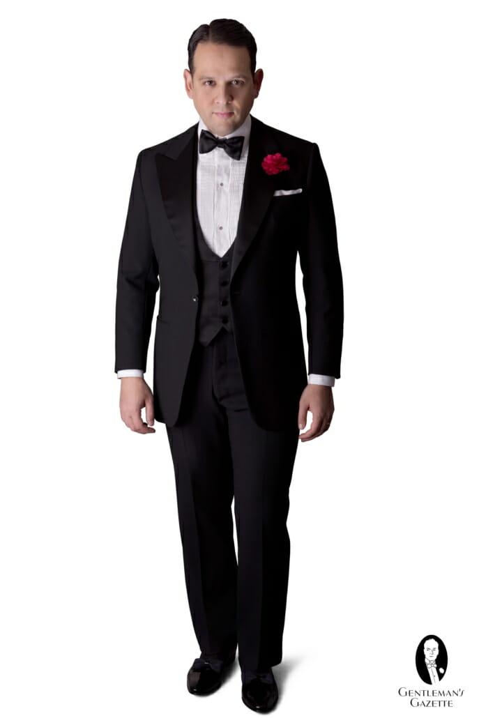 Classic Black Tie Tuxedo - Sven Raphael Schneider