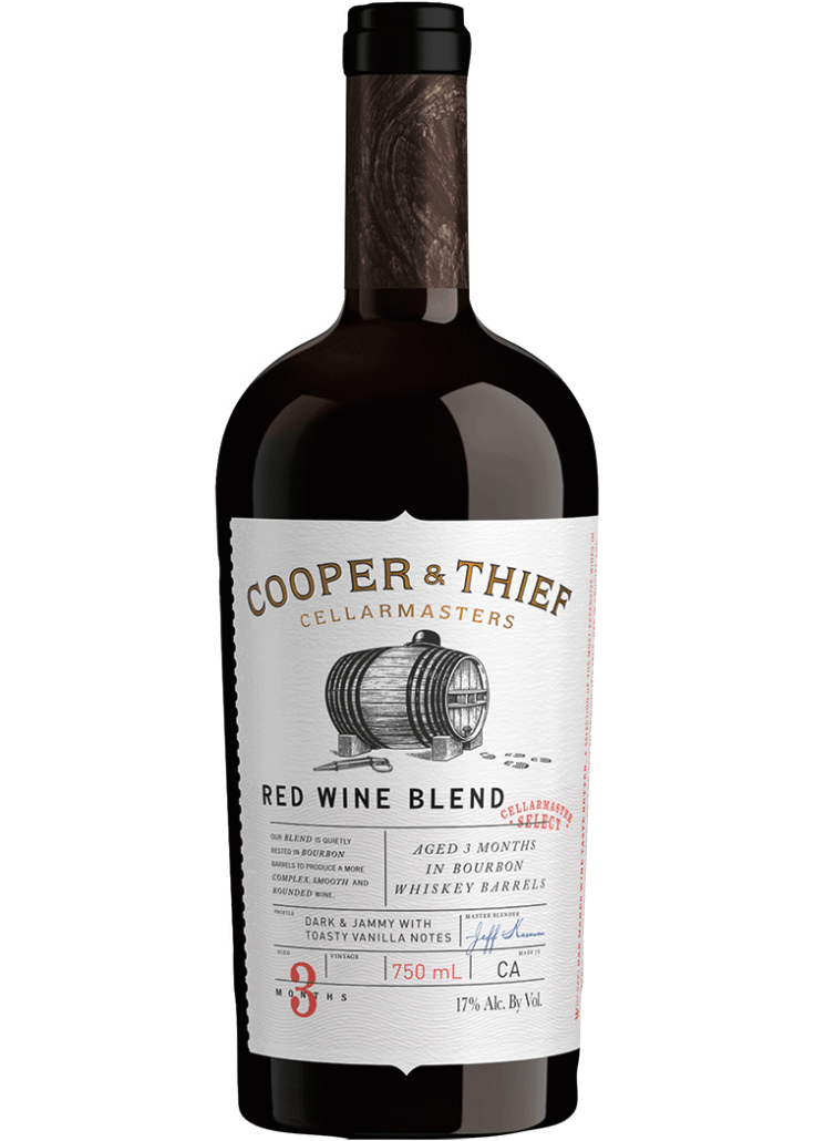 Cooper and Thief Bourbon Barrel Aged Red Wine