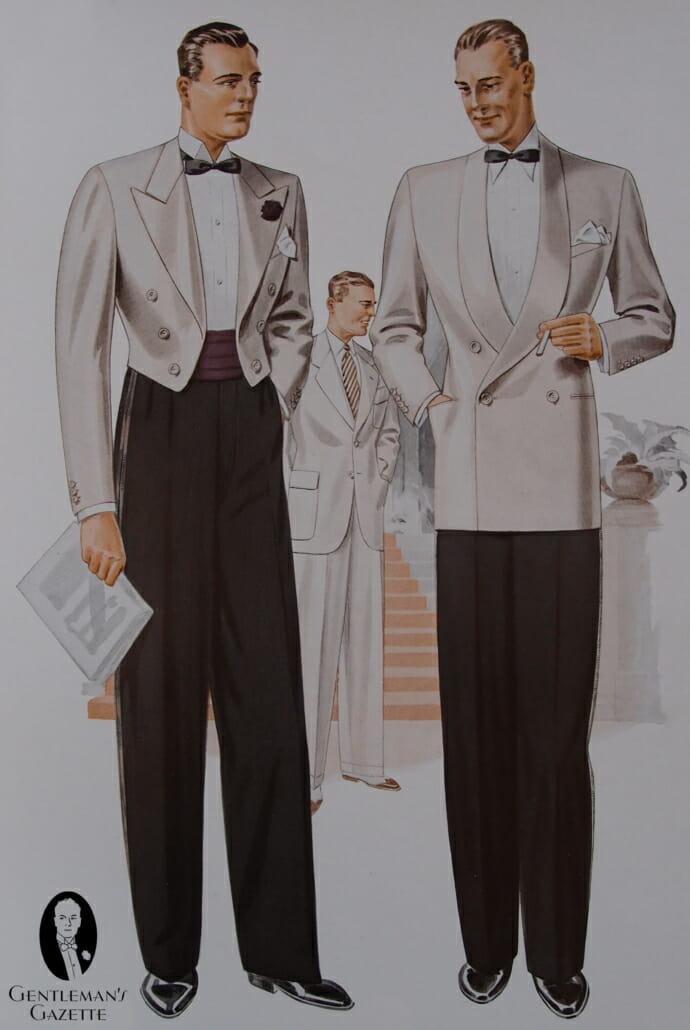 Vintage 1960s Tuxedo Cumberbund ADJUSTABLE