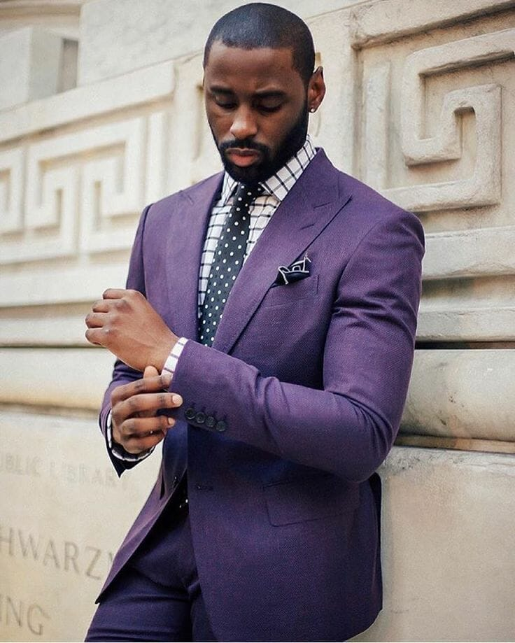 How to Wear Purple as a Menswear Color