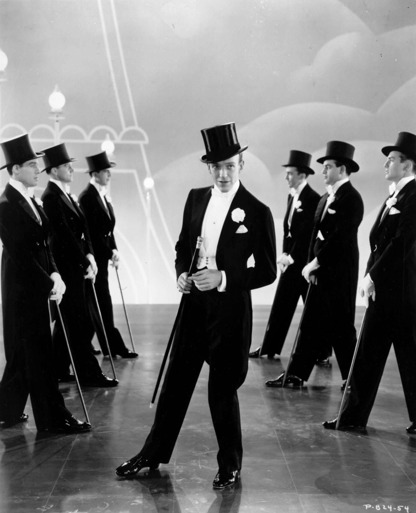 Fred Astaire in White Tie
