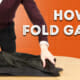 How to Fold Garments (Shirts, Trousers, Jackets)