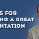 11 Tips for Delivering Great Presentations - Go Beyond PowerPoint