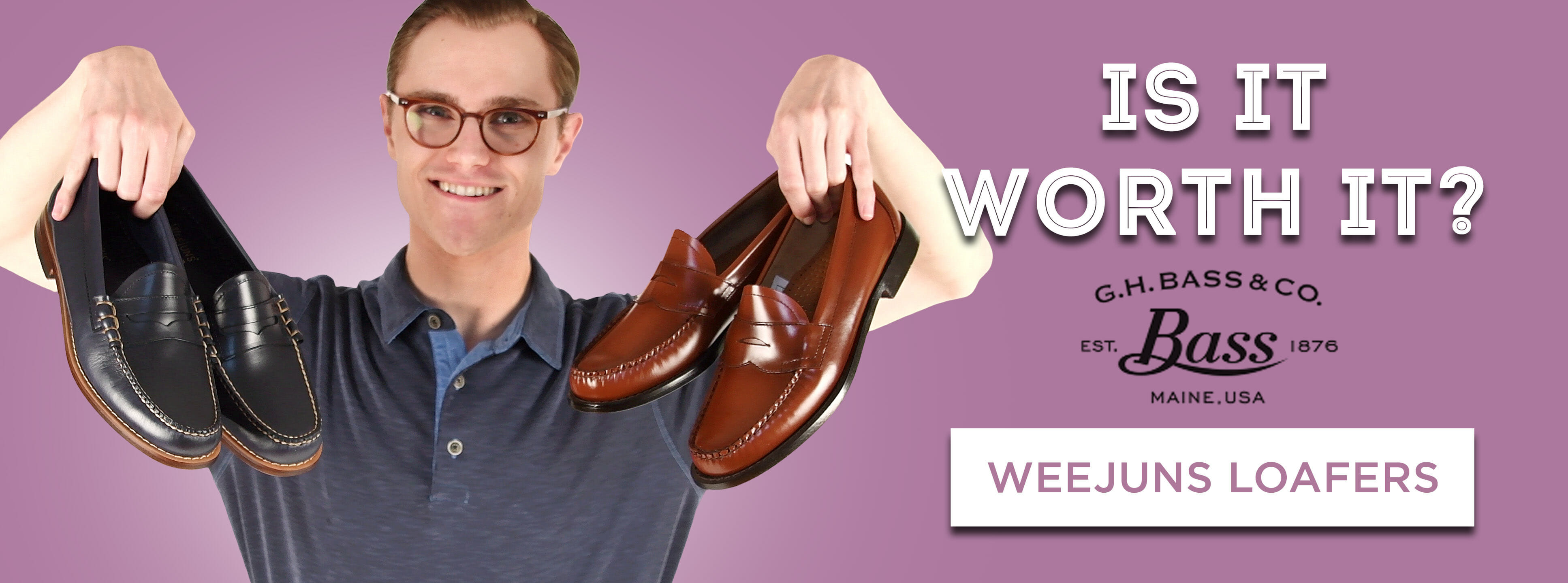 """G.H. Bass """"Weejuns"""" Loafers: Is It"""