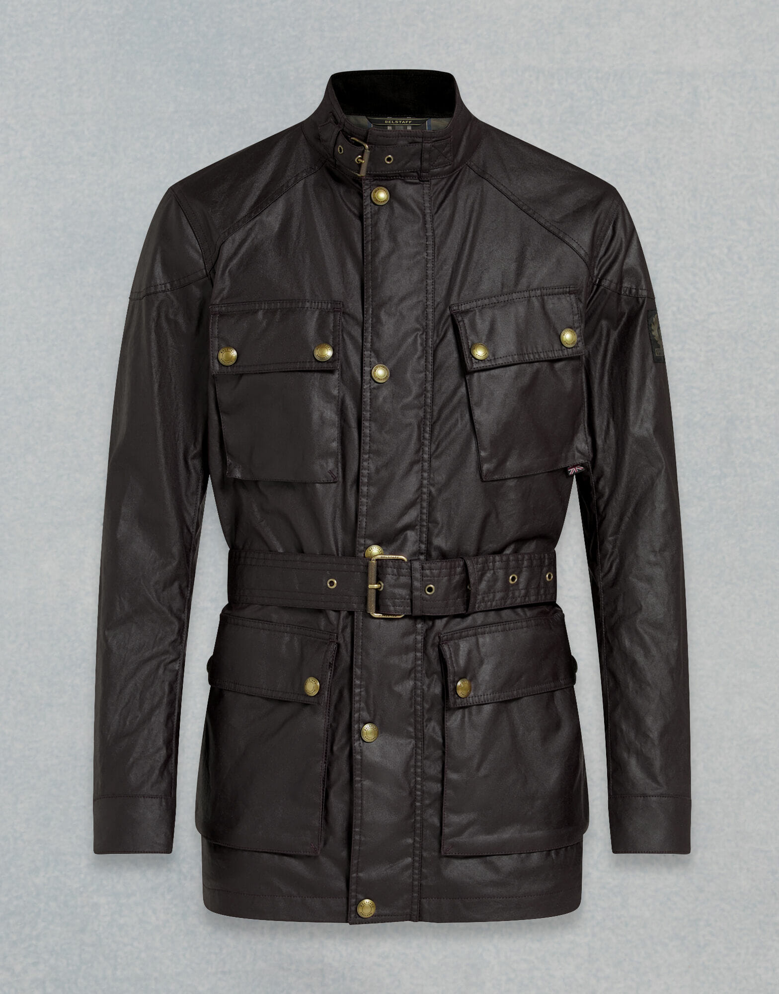 Belstaff Trialmaster Jacket in Waxed Black