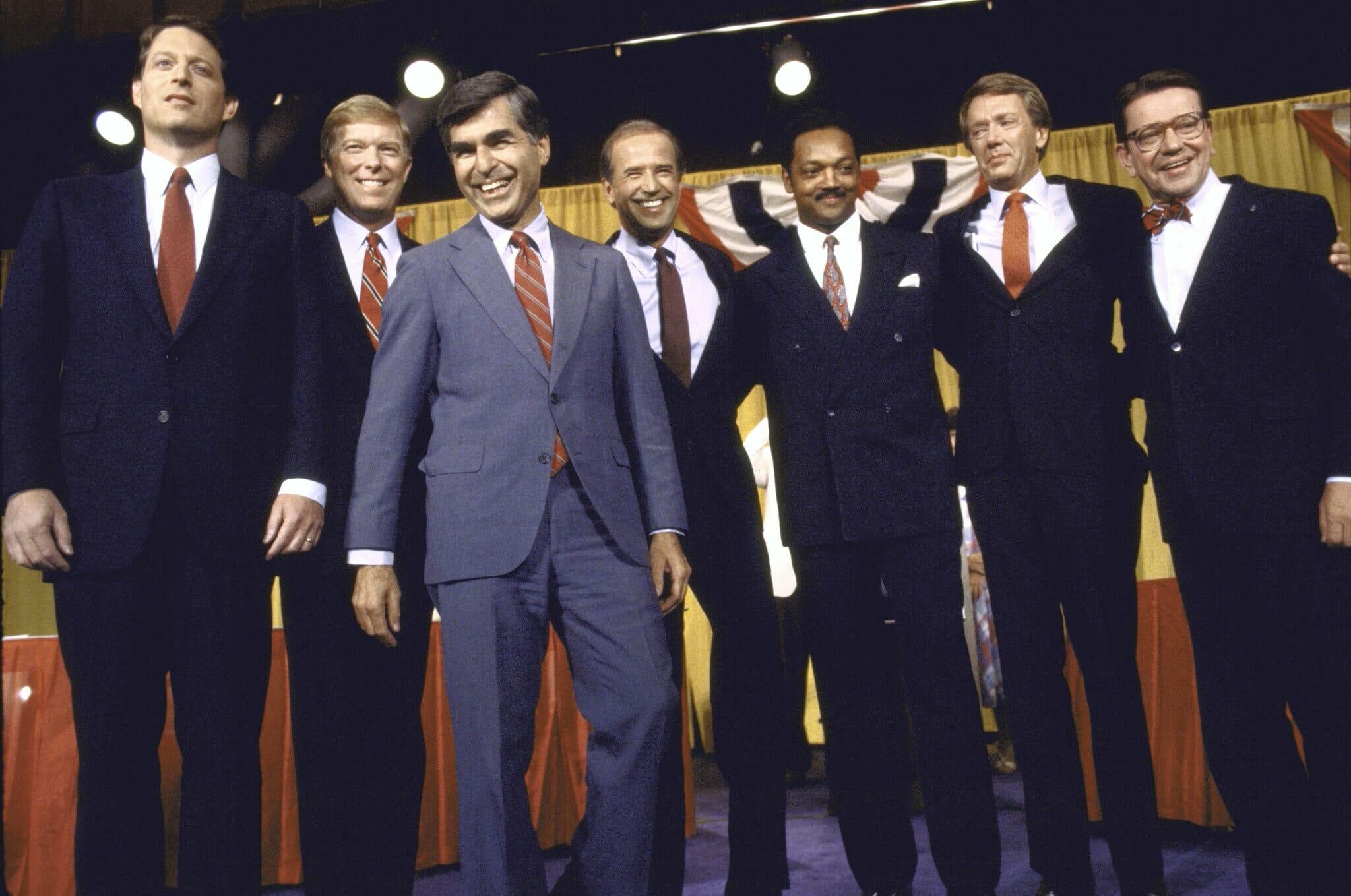 Politicians Blue Suits