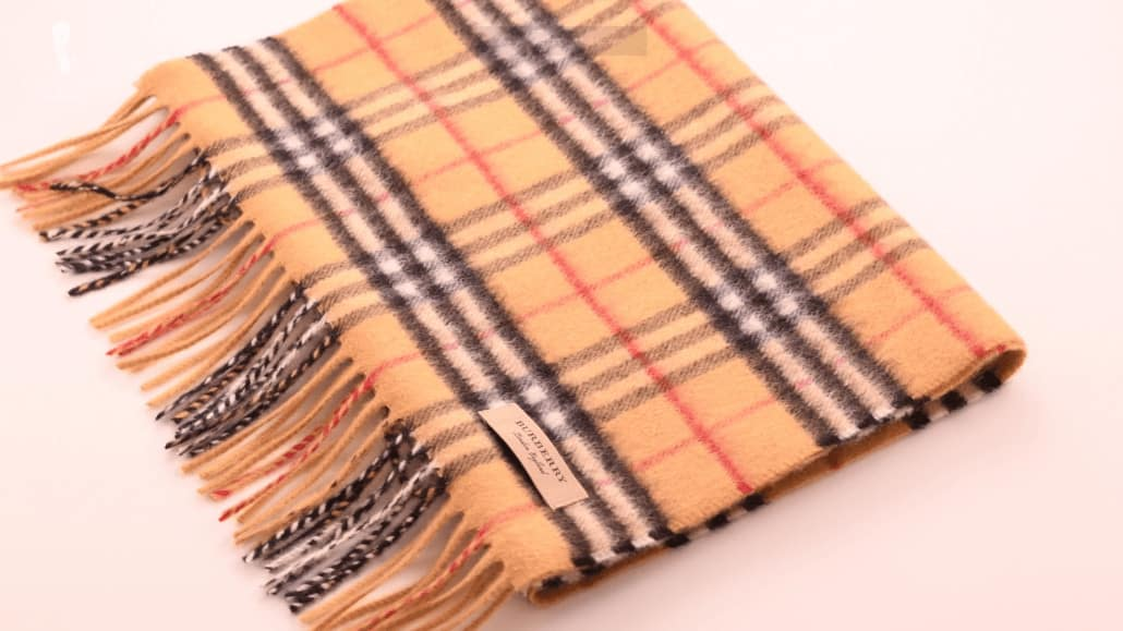 Burberry Scarf Is It Worth It Luxury Check Cashmere Scarf Review