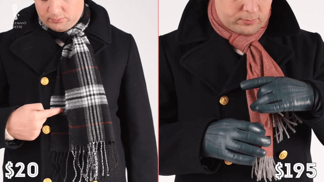$20scarf from Target vs $200 Fort Belvedere scarf