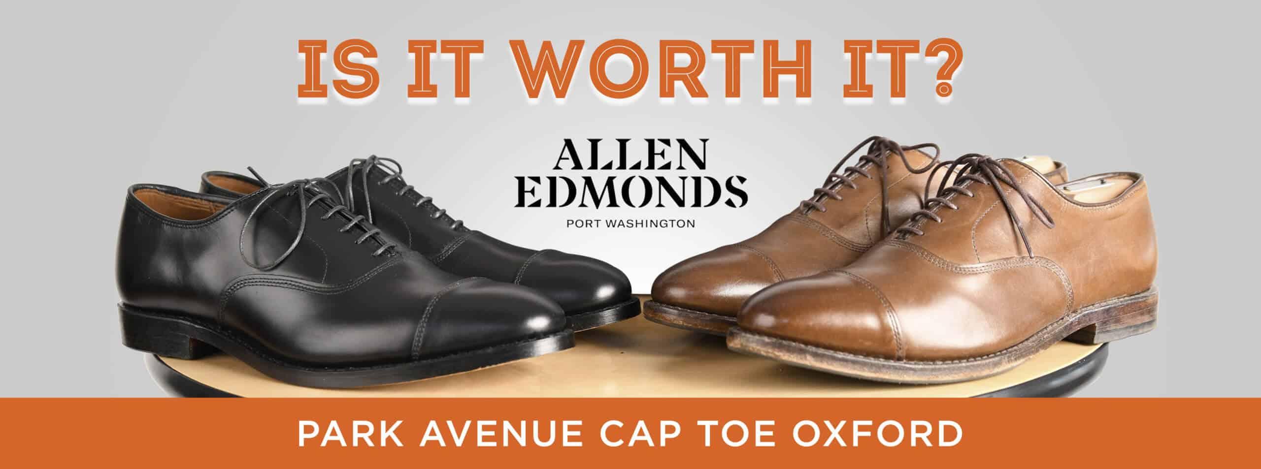Allen Edmonds Park Avenue Cap Toe