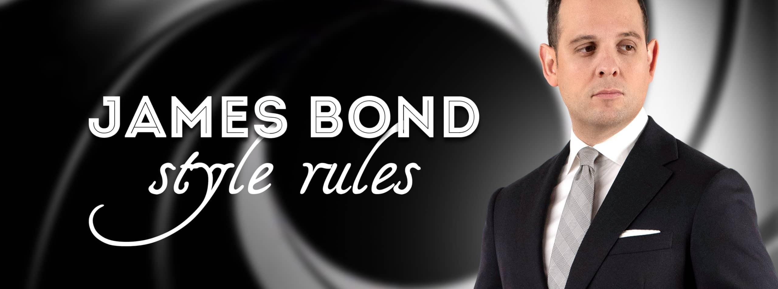 James Bond Style Rules - Menswear Secrets from 007 — Gentleman's Gazette