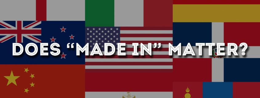 "Does ""Made In"" Matter?"
