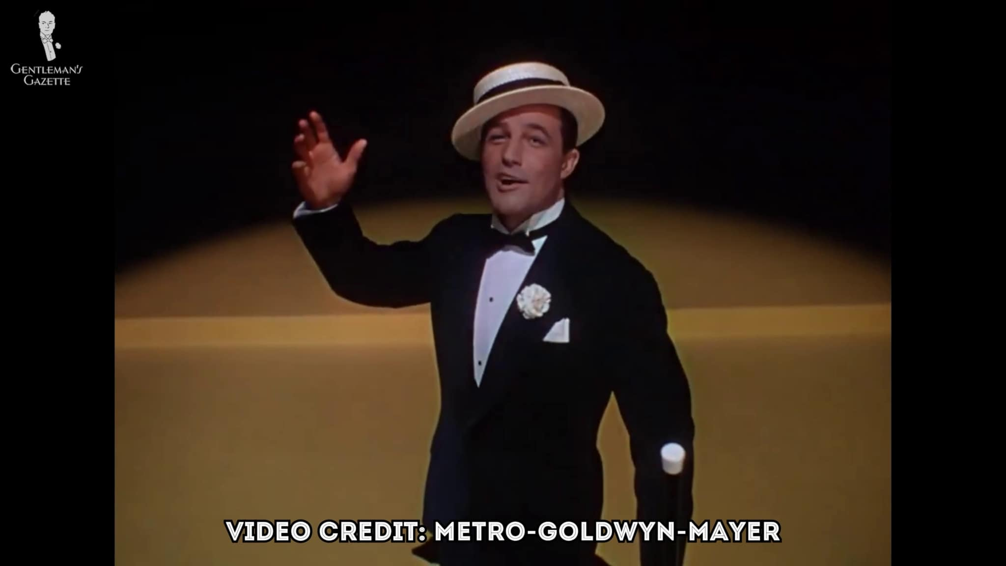 Gene Kelly in his Black Tie Ensemble
