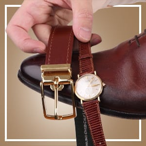 How to Pair Belts & Shoes (and Your Metal Accessories)
