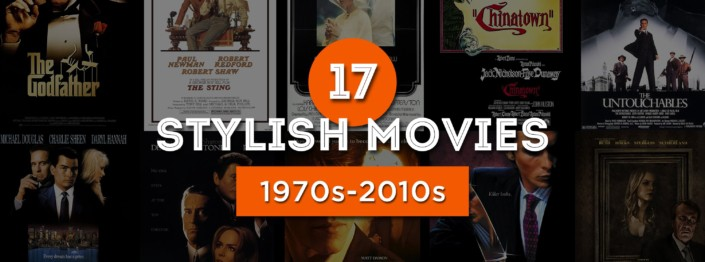 17 stylish movies with Godfather cover