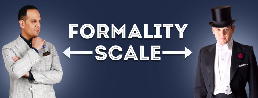 The Formality Scale: How Clothes Rank
