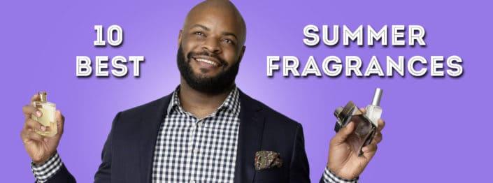 10 Best Summer Fragrances banner